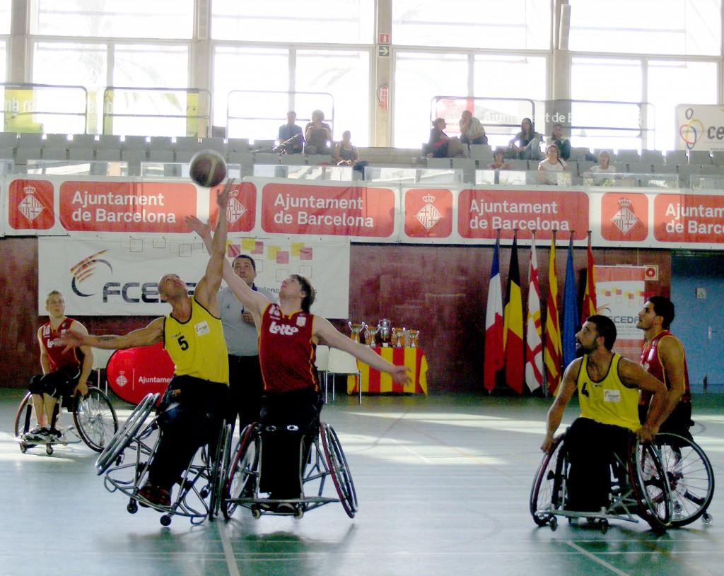 23 trofeu internacional ciutat de barcelona de b squet en cadira de rodes esports - Cadira barcelona ...