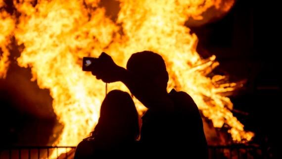 foguera sant joan 2015
