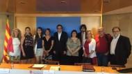 Ajuntament, Generalitat i entitats municipalistes reclamen a l'Estat més inversió a Rodalies