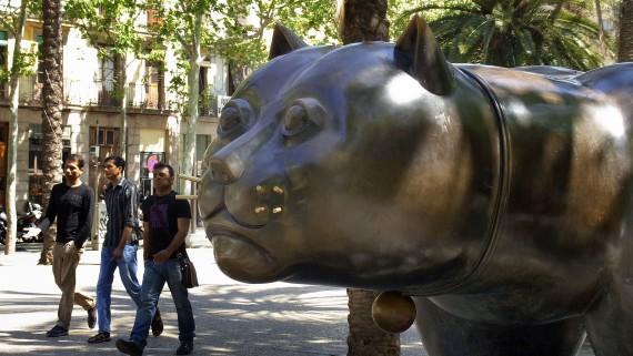 El gat de Fernando Botero