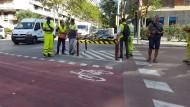 Comencen les obres per habilitar un carril bici al carrer Numància per connectar-lo, entre altres amb Marquès de Sentmenat.
