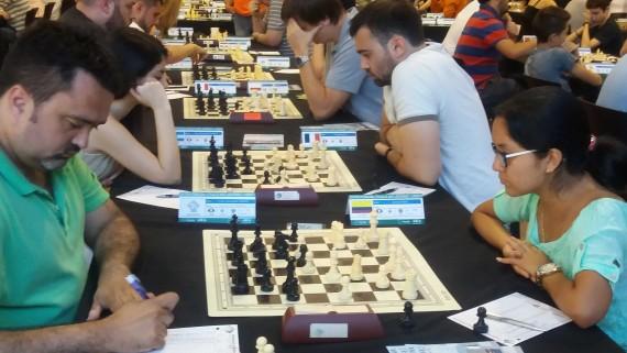 XXVIII Open Internacional d'Escacs de Sants, Hostafrancs i la Bordeta. A les Cotxeres de Sants.