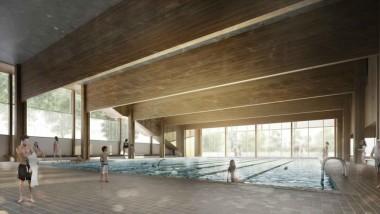 Nova piscina al Turó de la Peira
