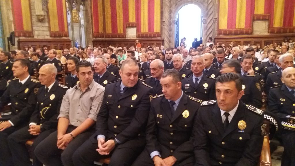 Medals Of Merit Awarded To The City Police Guàrdia Urbana De