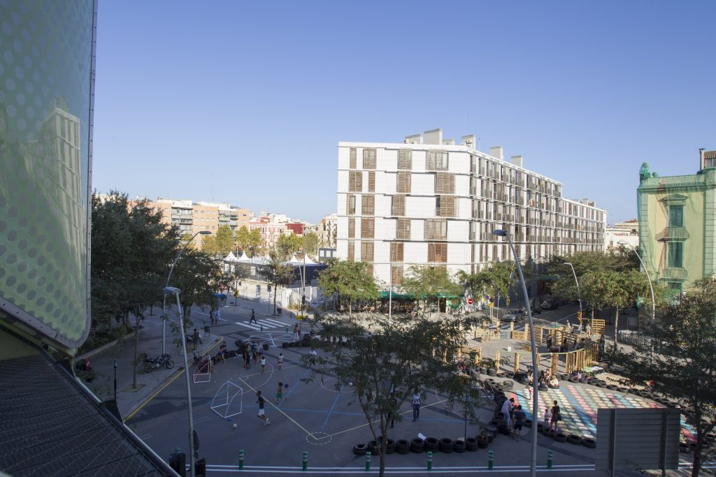 Participatory open day on poblenou s superblock ecologia urbanisme i mobilitat
