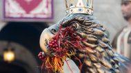 mercè 2016, cultura popular, bestiari, aguila
