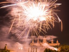 Music and firework spectacular for La Mercè