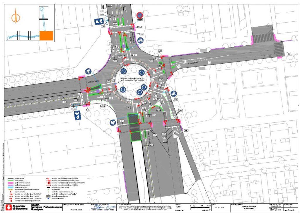 Mapa Carrils Bici Barcelona.Asi Crece La Red De Carriles Bici Bicicleta