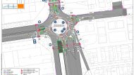 Projecte carril bici carrer Sant Adrià