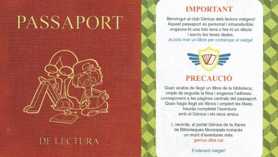 Passaport de lectura. Biblioteca