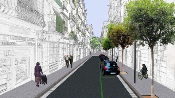 Imatge virtual de carrer de Radas