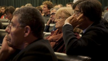 Conferència de Josep Maria Montaner al COAC.