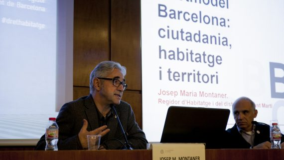 Conference on Housing by Josep Maria Montaner
