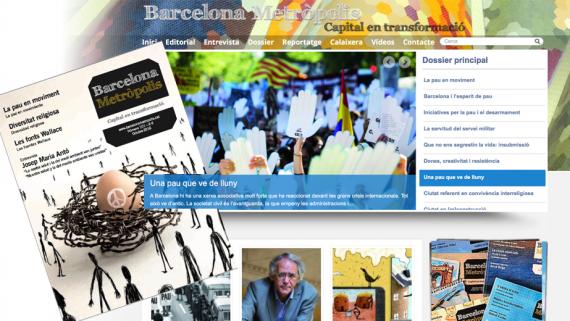 Barcelona Metròpolis 101 - La pau en moviment - La paz en movimiento - Peace in motion