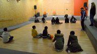 Activitat de Goalball (Futbol per a persones invidents). Organitza: Associació Discapacitat Visual Catalunya B1+B2+B3