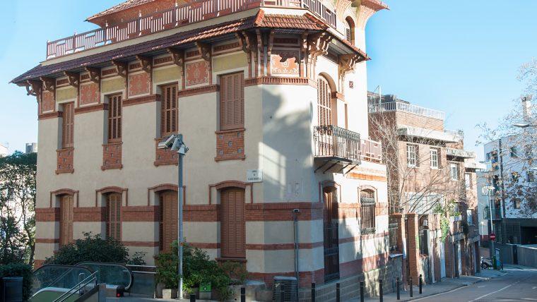 El Colegio Mayor Montseny y los jardines de Portolà | Web de Barcelona