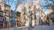 La plaça de Sant Vicenç