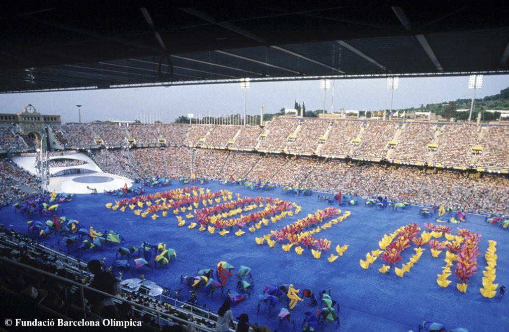 Barcelona Conmemora Los 25 Anos De Los Juegos Olimpicos Y