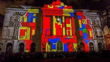 Festival Llum BCN per Santa Eulàlia