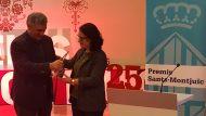 25 Premis Sants-Montjuïc Parisi rep premi