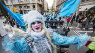 La Taronjada, Carnaval de Barcelona 2016 7.02.2016 Foto PERE VIRGILI