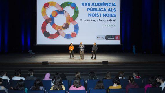 Ciutat Refugi - Audiència Pública als Nois i Noies
