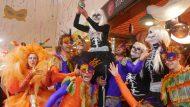Carnaval 2017, Gran Tiberi al Mercat de Fort Pienc. Mercats de BCN. Pebrot d'Or