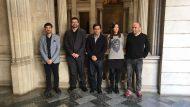 Pisarello, Parlon, Declaració contractació sostenible