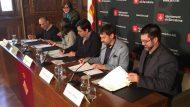 Pisarello, signatura declaració contractació pública sostenible