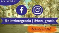Estrenem Facebook i Instagram a Gràcia