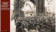 Manifestació Solidaritat Catalana 20 de maig de 1906. Fotografia: Frederic Ballell (AFB)