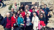 Gerardo Pisarello, Mercedes Vidal, Placa Homenatge Barraques Can Baró i Carmel