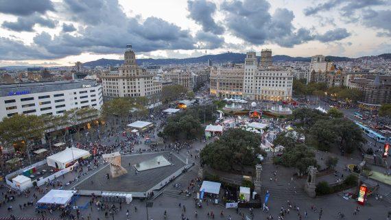 Associa't a la festa, Festes de la Mercè 2016, Plaça Catalunya 24.09.2016 Foto Pere Virgili