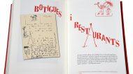 Fotografia interior del llibre 'Dalí i Barcelona'. © Ajuntament de Barcelona (Antonio Lajusticia).