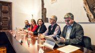 Reunió amb Iñigo de la Serna, ministre de Foment