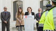 Ada Colau, Janet Sanz, Policia de Barri, Guardia Urbana