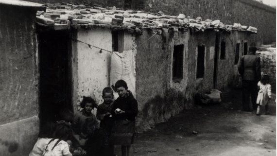 Nucli de barraques Robreño, any 1955.
