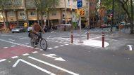 Cruïlla amb el carrer de Provença