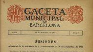 Gaseta Municipal 1914