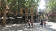 Plaça de la Virreina, Gràcia, Places de Gràcia