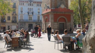 Plaça de la Vila, Gràcia, Places de Gràcia