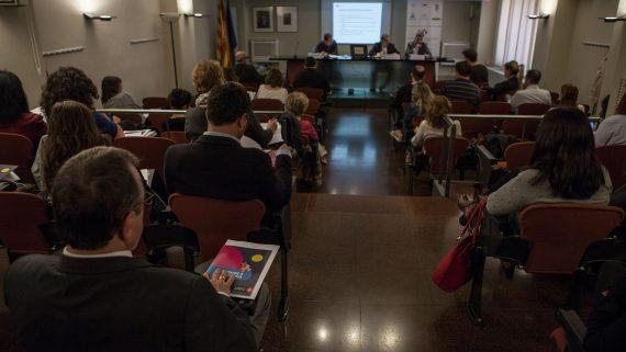 Conferència sobre Ajuts a la Rehabilitació al Col·legi d'Administradors de Finques de Barcelona-Lleida