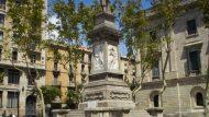 Plaça d'Antonio López, Via Laietana