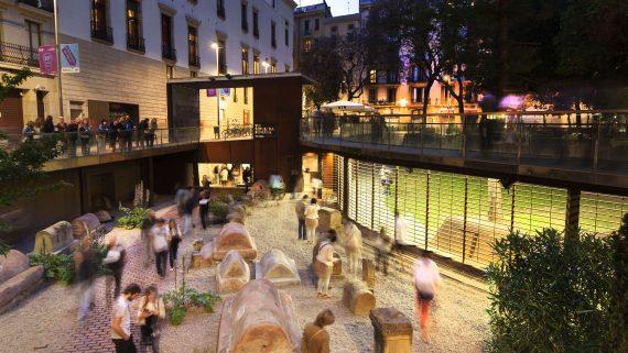Gunnar Knechtel Photography, España, Barcelona, ICUB. Nit dels Museus. Barcelona 2014. Vía Sepulcral Romana. Fotografiada el 17.05.2014 para ICUB.
