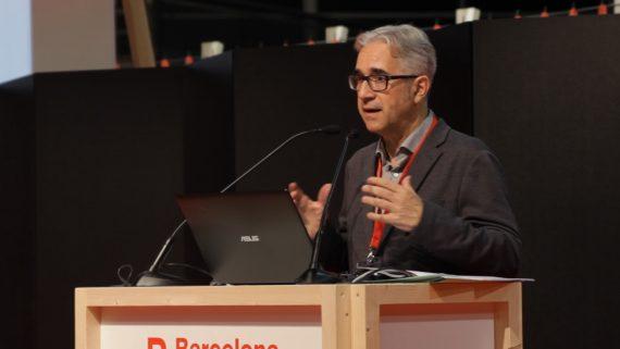 El regidor d'Habitatge, Josep Maria Montaner, a la jornada
