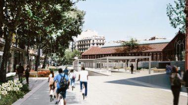 Mercat de Sant Antoni, Comte Borrell