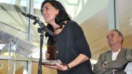 Irene Miranda, guanyadora relat curt amb 'En el monte'