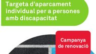 Targeta aparcament renovacio