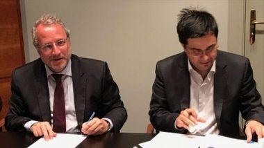Firma acord Fira i IMI