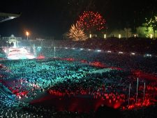 Celebration for the Olympic Games and Paralympics